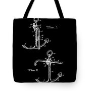 Vintage Anchor Patent Tote Bag
