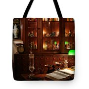 Vintage Apothecary Shop Tote Bag