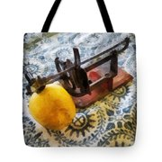 Vintage Apple Peeler Tote Bag