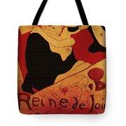 Vintage Art Poster Advertisement Entertainment Toulouse Lautrec 1892 Tote Bag