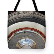 Vintage Automobile Tire Tote Bag