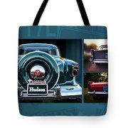 Vintage Automobiles Tote Bag