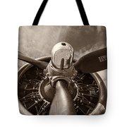 Vintage B-17 Tote Bag