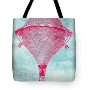 Vintage Balloon Tote Bag