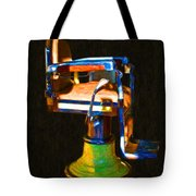 Vintage Barber Chair - 20130119 - V1 Tote Bag
