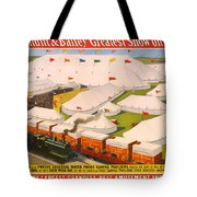 Vintage Barnum And Bailey Poster Tote Bag