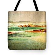 Vintage Beach Tote Bag