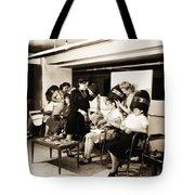 Vintage Beauty Parlor Tote Bag