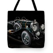 Vintage Bentley 4.5 Liter Le Mans Tote Bag