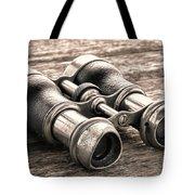 Vintage Binoculars Tote Bag