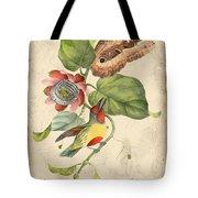 Vintage Bird Study-b Tote Bag