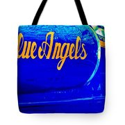Vintage Blue Angel Tote Bag