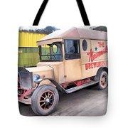 Vintage Brewery Van Tote Bag