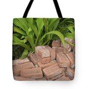 Vintage Brick Tote Bag