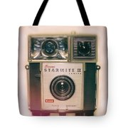 Vintage Brownie Starmite Camera Tote Bag