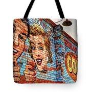 Vintage Building Art Tote Bag
