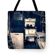 Vintage Cabin Interior Tote Bag