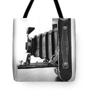 Vintage Camera - Black And White Tote Bag