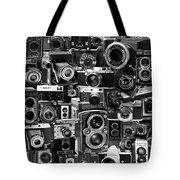 Vintage Camera Montage Tote Bag