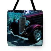 Vintage Ford Car Art II Tote Bag
