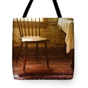 Vintage Chair And Table Tote Bag