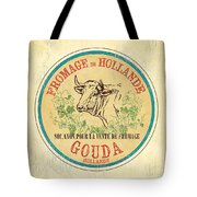 Vintage Cheese Label 1 Tote Bag by Debbie DeWitt