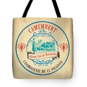 Vintage Cheese Label 3 Tote Bag