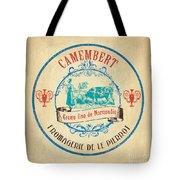 Vintage Cheese Label 3 Tote Bag by Debbie DeWitt