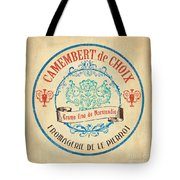 Vintage Cheese Label 4 Tote Bag by Debbie DeWitt