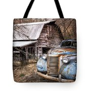 Vintage Chevrolet Tote Bag