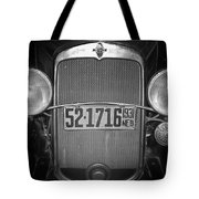 Vintage Chevrolet Grill Tote Bag