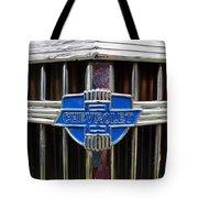 Vintage Chevrolet Grille Emblem Tote Bag
