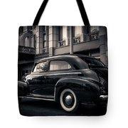 Vintage Chevrolet In 1934 New York City Tote Bag