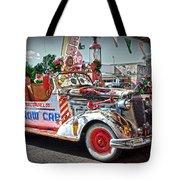 Vintage Chevrolet In Seligman Tote Bag