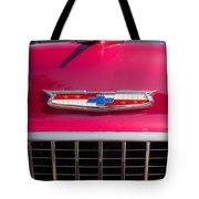 Vintage Chevy Bel Air Tote Bag