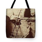 Vintage Cliff Dwelling Tote Bag