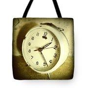 Vintage Clock Tote Bag