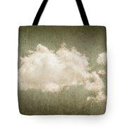 Vintage Clouds Background Tote Bag