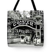 Vintage Coaster Tote Bag