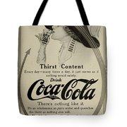 Vintage Coca Cola Ad 1911 Tote Bag