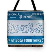 Vintage Coca Cola Ad Tote Bag