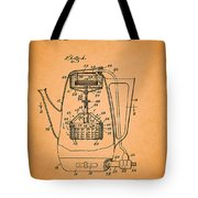 Vintage Coffee Maker Patent 1958 Tote Bag