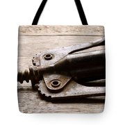Vintage Corkscrew Tote Bag