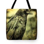 Vintage Crow Tote Bag
