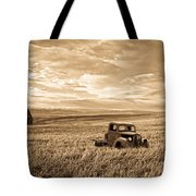 Vintage Days Gone By Tote Bag