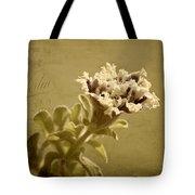 Vintage Double Petunia Tote Bag