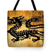 Vintage Dragon Tote Bag