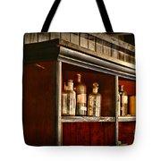 Vintage Druggist Shelf Tote Bag