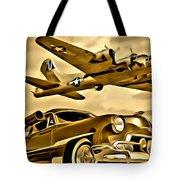 Vintage Earth Ancient Sky Tote Bag