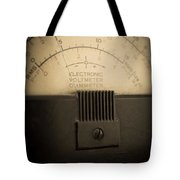Vintage Electric Meter Tote Bag